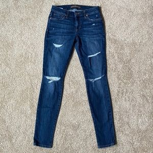 Joe's Jeans Esther Rolled Skinny Mid Rise Jeans
